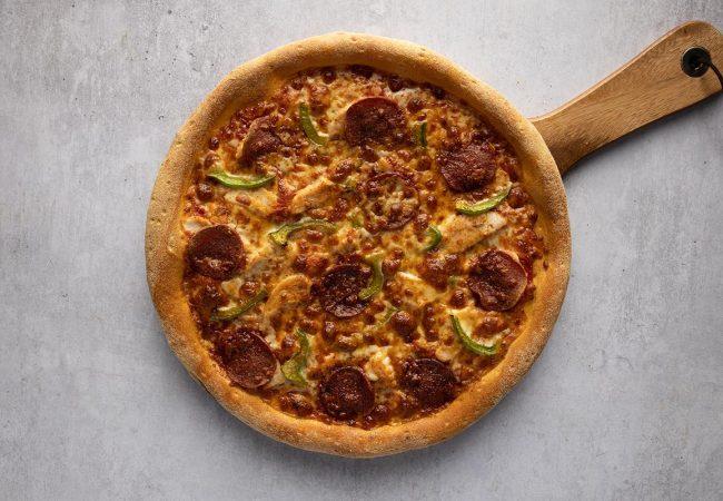 cheap halal pizza