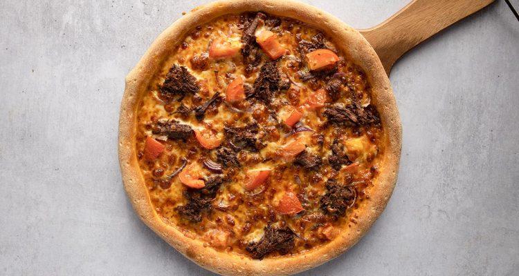 halal pepperoni pizza