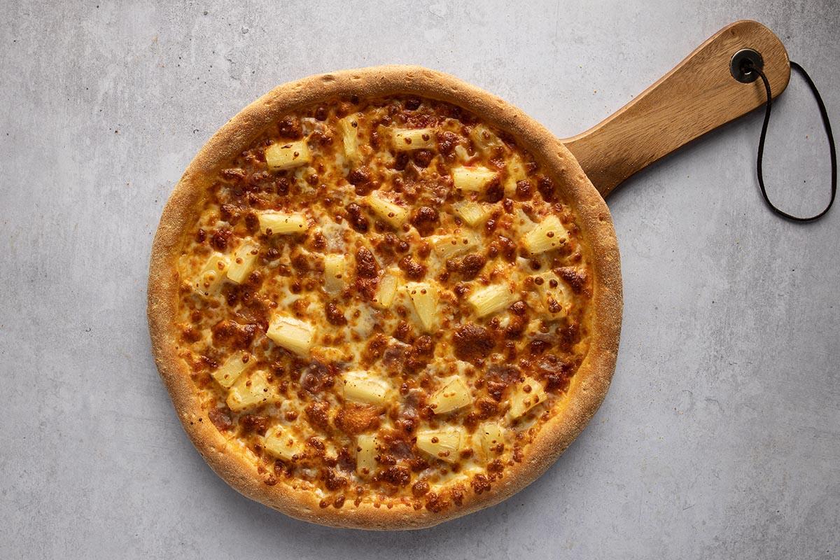 halal chicken pizza
