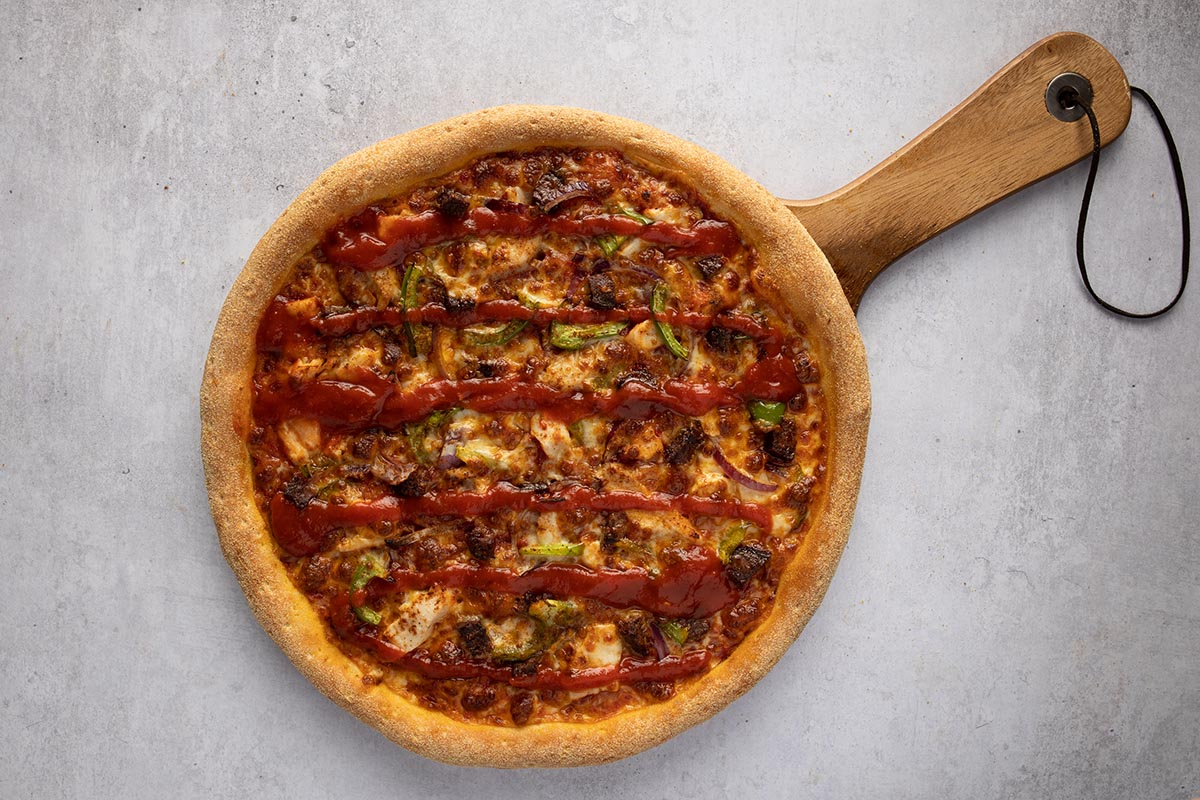 halal pizza home delivery